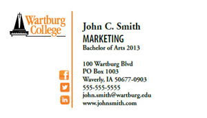 Wartburg college information center intranet portal pathways business card request colourmoves