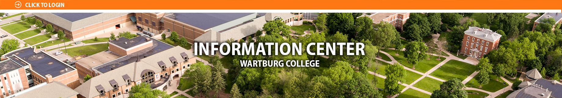 Information Center: Wartburg College Banner